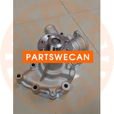 water pump isuzu 4le1 engine hitachi ex55 kobelco sk75 excavator