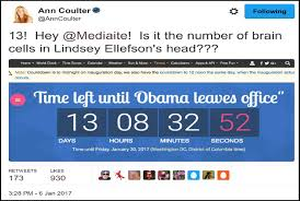 thanksgiving countdown clock ann coulter can u0027t count read or reason coulterwatch