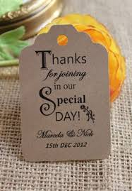 Thank You Tags Wedding Favors Templates by Warmest Thanks Thank You Wedding Favor Tag Flourish Square