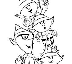 printable elf coloring pages christmas elf coloring sheets free page best toys collection