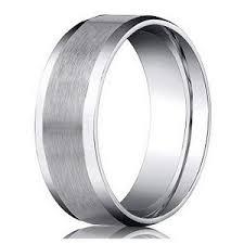 satin finish ring benchmark platinum men s wedding ring designer satin finish 6mm