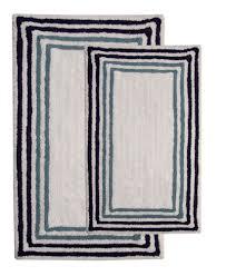 Cotton Bath Rugs 2 Piece 100 Soft Cotton Bath Rug Set Products Pinterest
