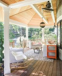 snug transitional porch designs for the upcoming summer