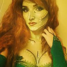 poison ivy makeup pop art style tutorial youtube