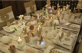 Decoration For Christmas Dinner Table by Edge Dining Room Table Setting Christmas Country Decorating Style