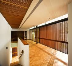 Beautiful Wood Architecture Beautiful Wooden Interior With Cladding Vertical