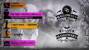 halloween effects white background halloween lower thirds kit after effects templates motion array