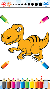 dinosaur dragon coloring book dino drawing kid free animal