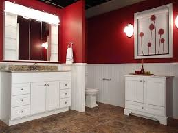 bathroom charming wooden bathroom bertch cabinets in white before