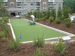 how big is a bocce ball court diy u2014 farmhouse design and furniture