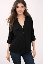 black button blouse black blouse black blouse button blouse black