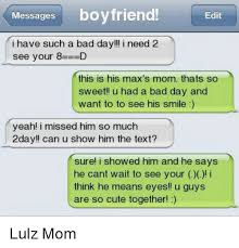 Sweet Memes For Boyfriend - messages boyfriend edit i have such a bad day i need 2 see your 8