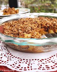 healthy thanksgiving treats healthy apple crisp c it nutritionally