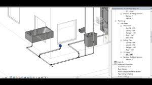 100 plumbing floor plan new fire sprinkler main installed