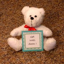 get well soon teddy teddy mail a smile today unique custom greetings