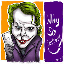tutorial gambar joker karikatur caricatur joker heath ledger adhicipta r wirawan