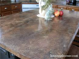 How To Paint Faux Granite - kammy u0027s korner painted faux granite counter tops with diy chalk