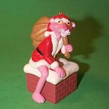 1993 pink panther ornament ornaments pink