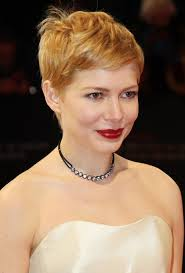 women haircuts with cowlick michelle williams pixie with cowlick hairstyles weekly