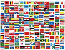 French And Dutch Flag Spanish Chinese Japanese German English Hindi