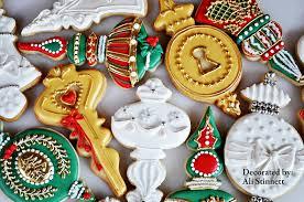 ornament cookies fancy flours where bakers bloom