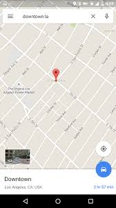 Google Maps Los Angeles Google Maps Update V9 13 Add Businesses Street View Thumbnails