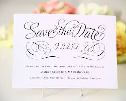 wedding save the date ideas charming script save the date card shine stunning creation