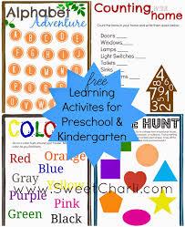 preschool u0026 kindergarten learning games and printables sweet charli