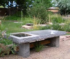 slab table bench u2013 stone forest