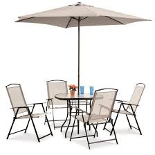 Patio Dining Set castlecreek complete patio dining set 6 pieces 232291 patio