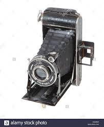 a 1930s welta garant 6x9 folding camera with a prontor shutter