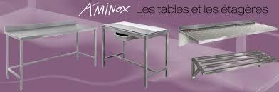 meuble inox cuisine aminox fabrication d équipements mobilier inox pour l