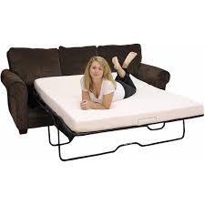fabulous sleeper sofa memory foam mattress great home design