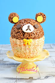 haniela u0027s rilakkuma rice krispies cake