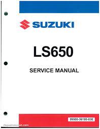 ls650 savage s40 boulevard 1986 2016 suzuki motorcycle service