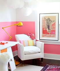 Trends In Interior Design Paint Dipped Walls U2013 A Colorful Trend In Interior Décor