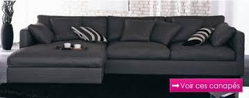 canapé tissu canapé tissu noir canapé inn