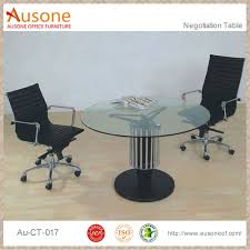 Glass Center Table by Round Glass Conference Tables Round Glass Conference Tables