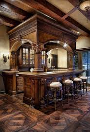 Rustic Home 20 Of The Most Lavish Wooden Home Bar Designs