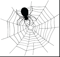 The Scary Spider From Gallery Kids Insects 94 Wonderful Web Spider Web Coloring Page