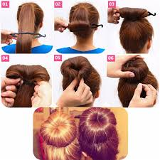 chignon tool professional hair braid tool twist styling clip stick bun maker