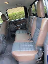 nissan titan camper interior big power meets big luxury wheels ca