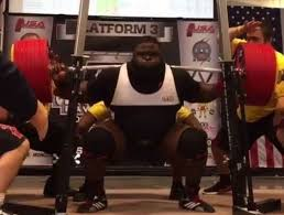 powerlifter sets record with 1 005 pound raw squat thescore com
