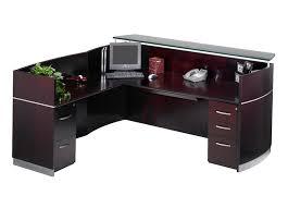 Wood Reception Desk Reception Furniture By Cubicles Com