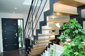 escalier bois design escalier droit steelmétal