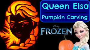 easy pumpkin carving ideas pumpkin carving queen elsa disney frozen princess pumpkin carving