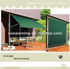 sf r 5200 free standing balcony awning buy free standing balcony