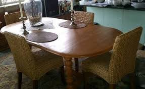 Dining Room Chairs Overstock by Seagrass Dining Chairs With Oak Legs Best House Design