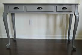 Painted Console Table Diy Spray Painted Console Table How To Update Furniture With