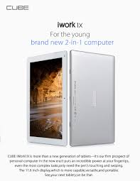 cube iwork1x 2 in 1 tablet pc windows 10 android 5 1 222 53